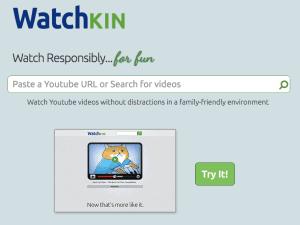 Watchkin.com entfernt Werbung, Vorfilme, Filmvorschläge sowie Texte und präsentiert den Film auf einer schlichten Seite. Perfekt für den Unterricht.