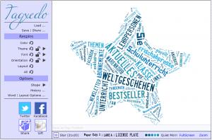Tagxedo: Erstellen Sie (oder Ihre Schüler) auf einfachste Weise online attraktive Word Clouds