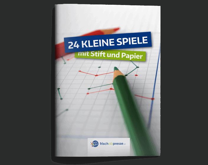24 Kleine Spiele Mit Stift Und Papier Frischabpresse Lektionsplanungen